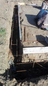ferraillage fondations maison ossature bois mob